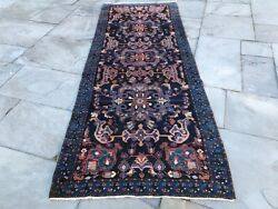 Antique Hand Knotted Wool Carpet Organic Dyes C1900 9andrsquo4andrdquo X 3andrsquo7andrdquo