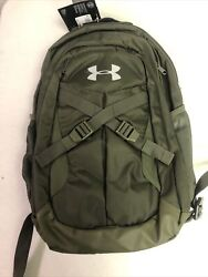Under Armour Recruit 2.0 Storm 20 Backpack Large Black Silver Laptop Nwt 65