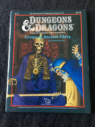 X13 Crown Of Ancient Glory Dungeons And Dragons Tsr 9218 Expert Companion Rules