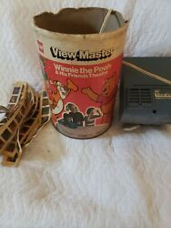Vintage Gaf View-master Winnie The Pooh And His Friends Theatre Disney Untested