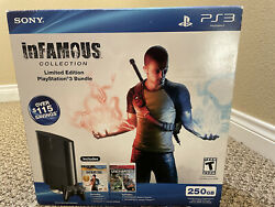 Playstation 3 Console 250gb - Bundle - Infamous Collection