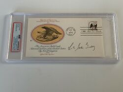 Ruth Bader Ginsburg Supreme Court Signed Autograph First Day Cover Psa Dna J2f1c