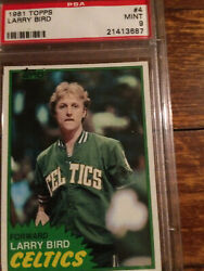 1981 Larry Bird 2nd Year Card Psa 9 A Beauty Thats Keeps Going Up In Value