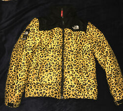 Supreme The Collaboration 11aw Leopard Nupsi Down Jacket Size M