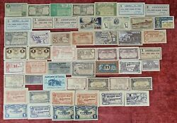 Collection Of 52 Local Tickets From Catalonia. Perfect State. 1937.