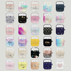 Personalised AirPods Case Cover 1 2 Pro Cute Designer For Girls Space Iridescent GBP 5.99