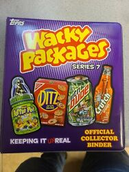 Official Wacky Packages Series 7 Collector Binder, Gpk