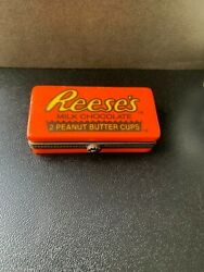 Reeseand039s Peanut Butter Cups Midwest Of Cannon Falls - Hinged Trinket Box - Rare