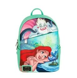 Confirmed Loungefly Nwt Disney Ariel Dec Backpack Exclusive New Preorder