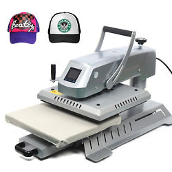 Swing Away 15x15 T-shirt Heat Press Machine Sublimation Pull Out Heat Transfer