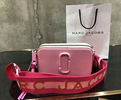 MARC JACOBS Snapshot DTM Pink Small Camera Bag 100% AUTHENTIC amp; NEW