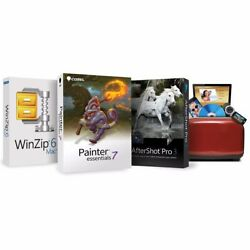 Corel Mac Essentials Suite Software Kit - Photo Editing And Painting Programs