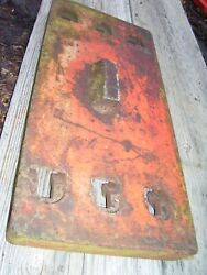 Vintage Ji Case 930 Row Crop Tractor  - Front End Weight X 1