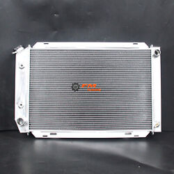 For Ford Fairmont Mustang Radiator 1980-1993 Aluminum 2row/core 40mm 138e At/mt