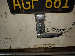 Packard 1940 1941 1942 Trunk Latch Assembly With License Plate Bracket And Light