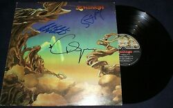 Yes Signed Record Titled Yesterdays 3 Members R.i.p Mr.squire Wow Rare Proof