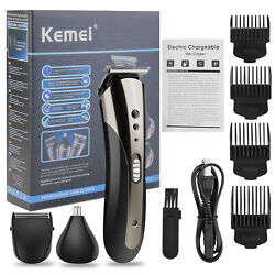 Professional Hair Clippers Trimmer Shaving Machine Beard Cutting Cordless Barber