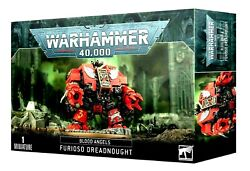 Blood Angels Furioso Librarian And Death Company Dreadnought Warhammer 40k