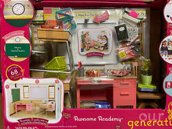 Our Generation Awesome Academy School Room Set For Dolls American Girl Doll