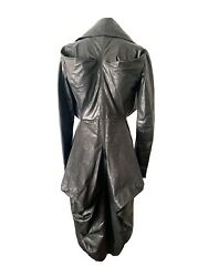 Alexander Mcqueen Runway Spring 2009 Leather Long Coat New With Tags