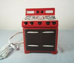 RARE Yankee Candle Retro Oven Stove Baking Electric Tart Warmer Retired