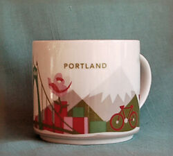 Starbucks Coffee Mug Portland Oregon You Are Here Collection Excellent