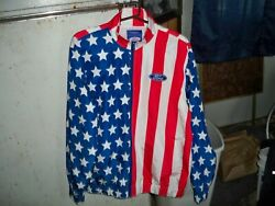 Menand039s Ford Mustang Stars And Stripes Windbreaker Forever 21 New With Tags