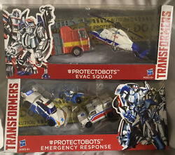 Transformers Protectobots Emergency Response Evac Squad Asia Day Set Groove Misb