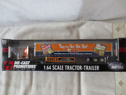 Rare New Schneiders Canada International 9100i Reefer Tractor Trailer 1/64 Dcp