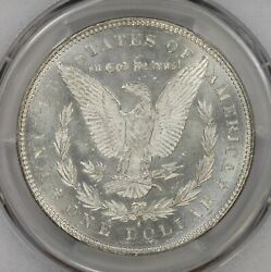 1878 S Morgan Silver Dollar Pcgs Ms-63 Vam 18a Spaghetti Wings Only 1 Finer