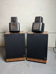 Kef Reference Series Model 105 Series Ii Speakers Matching Set Good Condition