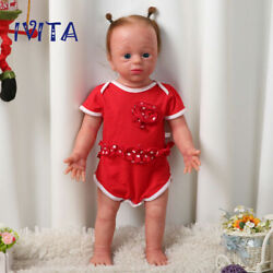 Ivita 22and039and039 Realistic Reborn Dolls Newborn Baby Girls With Skeleton Xmas Gift Toy