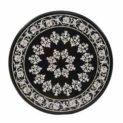 42 Marble Dining Table Top Inlay Rare Semi Round Center Coffee Table Ar1305