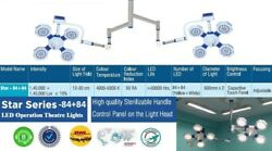 Model Surgical Ot Light Operation Theater Led Lamp Double Satellite For Surgery
