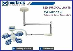 Surgical Light Medical Led For Ot Operation Theater Ceiling Tmi Hex Ct 4 Model