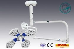 Common Arm Surgical And Examination Lamp Ceiling Mount Operation Theater Room Lamp