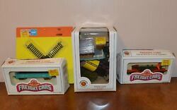 Model Trains - Lot Of Bachman Cars + Atlas Track - N Scale - Free Shipping