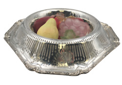 Shreve And Co Sterling Silver Large Centerpiece Fruit Bowl