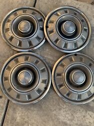 Genuine 1968 1969 Dodge Charger Dart Coronet 14 Inch Hubcaps Wheel Covers Set