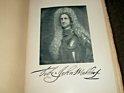 1905 The Governors Of Connecticut Frederick Norton 50/1000 Full Page Art Deluxe
