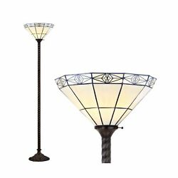 Jonathan Y Jyl8005a Moore Style 68.57 Torchiere Led Floor Lamp Tra...