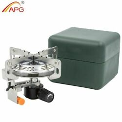 Camping Stove Gas Burners Fire Starter Outdoor Foldable Portable Picnic Cooking