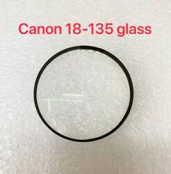 Camera Front Lens Glass Unit Repair Part For Canon 18-135mm(only Glass)