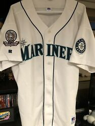 Russell Athletic Seattle Mariners Alex Rodriguez Jersey Size 52