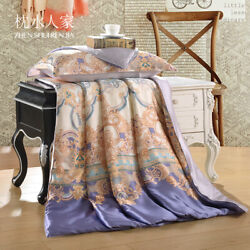 Bedding Set 100 Silk Quilt Light Cool Thin And Air-conditioned Quilt
