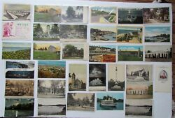 Mixed Lot New Jersey Nj 33 Antique And Vintage Postcards Freehold Highlands Dover