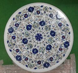 2and039x2and039 Marble Table Top Antique Malachite Corner Coffee Creative Inlay Stone W118