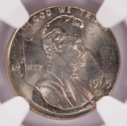 Ngc 1c 1995-d Lincoln Cent On 1994-d Dime Dual Date Double-denomination Ms66