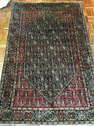 Antique Fereghan Sarouk Middle Eastern Rug Circa 1900 4and0392 6and0394