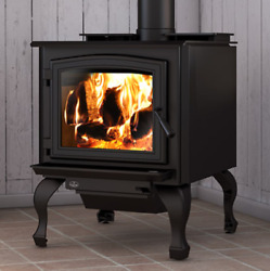 Osburn 3300 Wood Stove Large 90000 Btuand039s Epa Approved Free Shipping